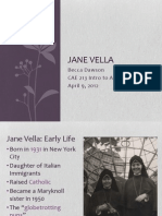 jane vella used 2014