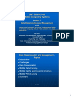 CPET565 499 MobileComptingSystems Lect 7 2012F DataDissemiMang