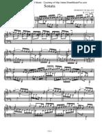 Scarlatti - Piano Sonata K0173