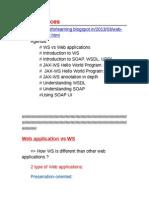 Web Service Workshop