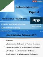 PUB AD (6 C) - Chapter- 6- Administrative Tribunals (at)