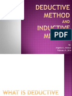 Deductive & Inductive Method