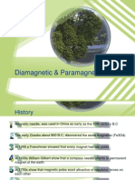 paramagnetic & diamagnetik
