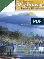 Lac Annecy accueil et decouverte brochure it