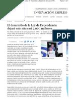 El desarrollo de la Ley de Dependencia (Almería)