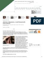 Antonio Abujamra, o Mal-humorado Bem-Amado - Cultura - Versaoimpressa - Estadão