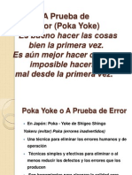A Prueba de Error-pokayoke