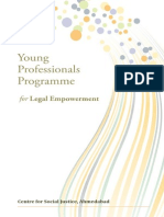 Young Professionals Programme for Legal Empowerment
