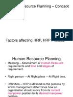 HRP Process