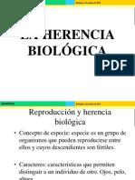 Tema 2. Reproducción y Herencia Biológica. 2012