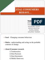 Digitaal Consumer Behaviour