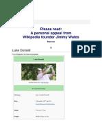 Tokoh Pemain Golf- Luke Donald