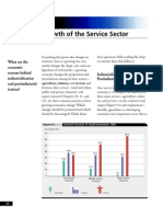 Growth of Service Sector - World Bank