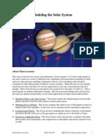 Modeling Solar System