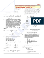 AIPMT 2014 Paper Solution Physics