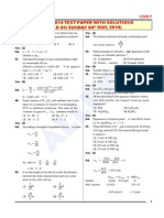 AIPMT 2014 Paper Solution Chemistry