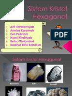 Sistem Kristal Hexagonal