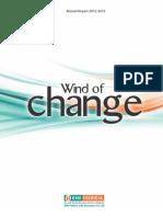 IDBI Federal Annual Report 2012-2013