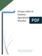 Sistema Agroalimentario Mundial Ensayo Corregido