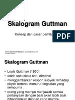 Skalogram Guttman