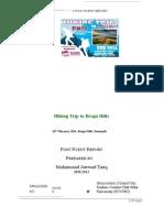 Brogfga Hills Report