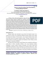 Deskripsi Pedagogical Content Knowledge Guru Pada Bahasan Tentang Bilangan Rasional