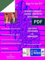 NUOVA MUSICA CONSONANTE - LIVING MUSIC FOUNDATION (USA) - 1994-2014 - Founders LIANA ALEXANDRA and SERBAN NICHIFOR