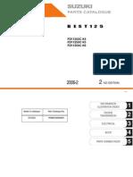 Catalogo de Partes de BEST 125 (2004-2000) Ingles
