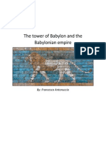 the tower of babylon and the babylonian empire final