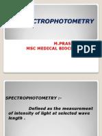 Spectro Photometry