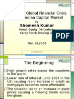 Impact of Global Fin Crisis