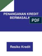 Manajemen Resiko Kredit BPR