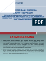 Peraturan Bank Indonesia no.13/26 tentang Kualitas Aktiva Produktif