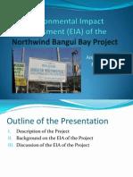 EIA of Northwind Bangui Bay Project