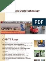 Orbitz Brush Deck Technology