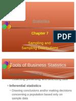 7.Sampling and Sampling Distr