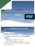8.Estimation Single Population