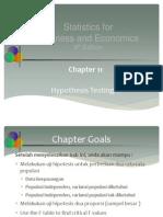 11.Hypothesis Testing II