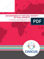 CIVICUS Self-regulation Guide Eng 2014