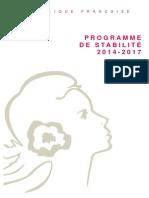 Programme Stabilite2014