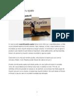 5 Exercitii Pentru Spate