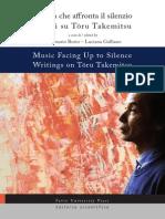 Borio Takemitsu - Musica Che Affronta Il Silenzio
