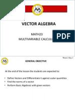L2 Vector Algebra