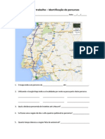 Itinerario Sesimbra-Nazaré