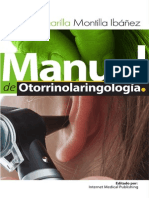 Manual de Otorrinolaringología