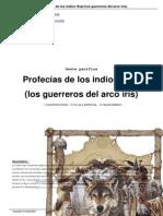 Profesias de Los Indios Hopi