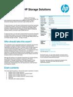 HP0-J73 Study Guide