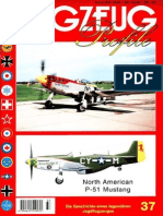 (Flugzeug Profile No.37) North American P-51 Mustang