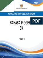 Dokumen Standard Bahasa Inggeris SK Tahun 3 KSSR