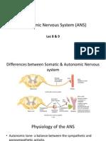 autonomic nervous system ans